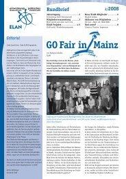 GO Fair in Mainz - ELAN