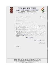 Status of existing Computers / Printers ..reg. - Nehru Yuva Kendra ...