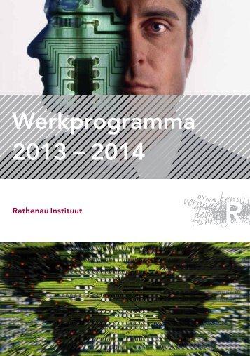 Rathenau_Werkprogramma_2013-2014