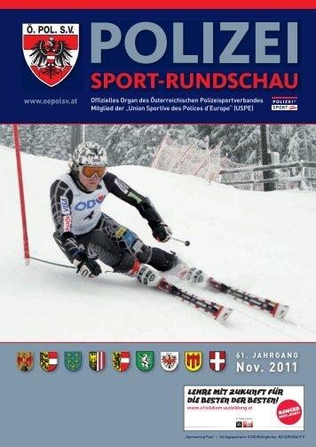 Nov. 2011 - Österreichischer Polizeisportverband