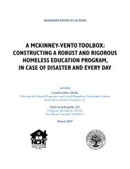 a mckinney-vento toolbox - Missouri Department of Elementary and ...