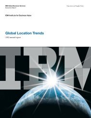 Global Location Trends