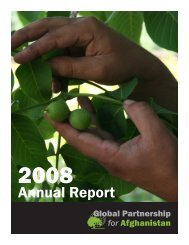 Annual Report - Global Partnership for Afghanistan