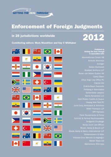 Enforcement of Foreign Judgments - Harris Kyriakides LLC