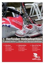 Anmeldung zum 7. Herforder Volksduathlon - VfL Herford