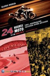24 HEURES MOTO 2010 - GUIDE MEDIA - Mototribu