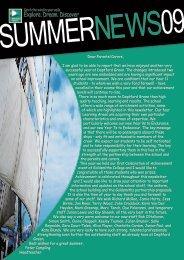 SummerNewsletter09 - Deptford Green School