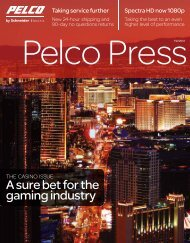 Download Entire Issure (PDF file, 10 MB) - Pelco