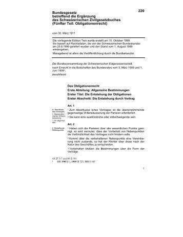 Erste Abteilung: Allgemeine Bestimmungen