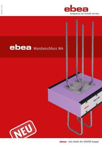 ebea Wandanschluss WA