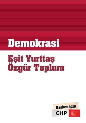 Demokrasi Raporu A5.indd - CHP