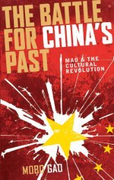 Battle for China's Past : Mao and the Cultural Revolution