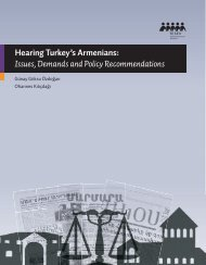 Hearing Turkey's Armenians: Issues, Demands and Policy ... - Tesev