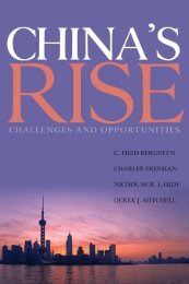 Bergsten M. China's Rise. Challenges and Opportunities - 2008