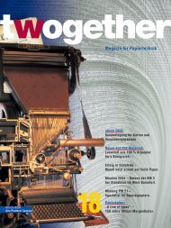 Magazin für Papiertechnik - Voith