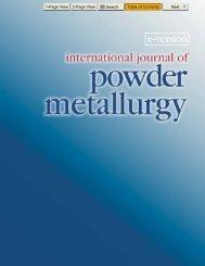 E-IJPM: Vol. 43/6 - MPIF