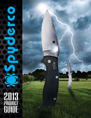 2013 Spyderco Product Guide