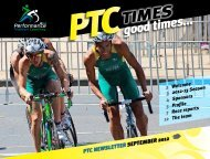 PTCgood times… - Performance Triathlon Coaching