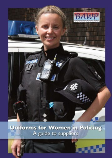 A Campaigning Organisation - British Association of Women Police