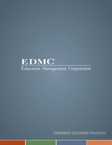 corporate education programs - Education Management Corporation