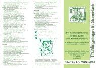 15., 16., 17. März 2013 - Dult in Sauerlach