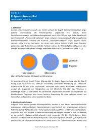 Polymermikropartikel - Pharmazie-Lehrbuch