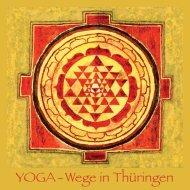 YOGA - Wege in Thüringen - Triyoga Center Erfurt