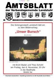 """""""Unser Bursch"""" - Verbandsgemeinde Landstuhl"""