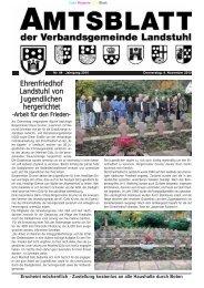 Ehrenfriedhof Landstuhl von Jugendlichen hergerichtet