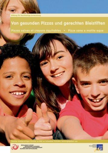 Von gesunden Pizzas und gerechten Bleistiften - Guides DE - Educa