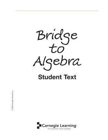 Math 086/087 Algebra a generalization of Arithmetic