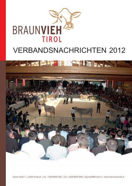 Jahresbericht 2011 online abrufbar! - Braunvieh Tirol