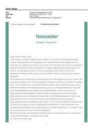 Newsletter Nr. 2/August 2011 - Perspektive Berufsabschluss