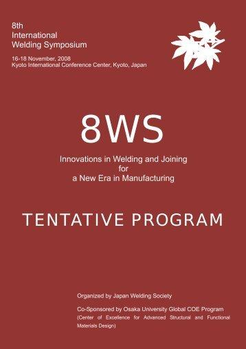 Tentative Program Web7