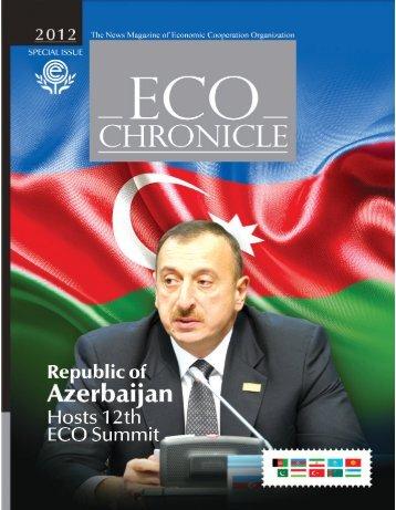 ECO Chronicle - Economic Cooperation Organization