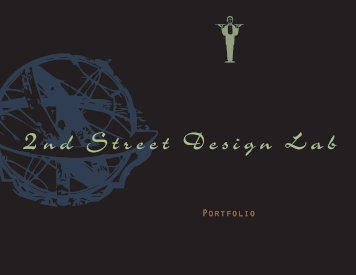 Download Portfolio PDF - 2nd St Design Lab