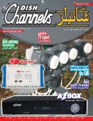 download - Dish Channels - International Satellite Magazine