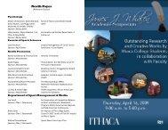 North Foyer - Ithaca College