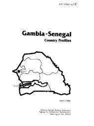 Gambia -Senegal - usaid/ofda