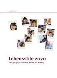 Leseprobe Lebensstile 2020 - Zukunftsinstitut