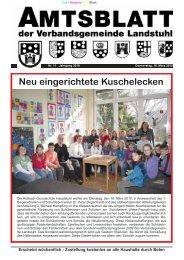 Neu eingerichtete Kuschelecken - Verbandsgemeinde Landstuhl