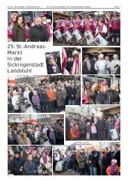 25. St.-Andreas- Markt in der Sickingenstadt Landstuhl