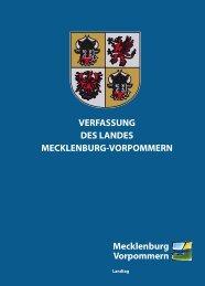 Verfassung des Landes M-V - Landtag Mecklenburg Vorpommern