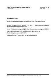 Drucksache 6/712 - Der Landesbeauftragte für den Datenschutz und ...