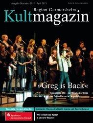 Greg is Back« - Sparkasse Germersheim-Kandel