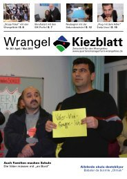 WrangelKiezblatt Nr. 36 - April/Mai 2010 - Quartiersmanagement ...