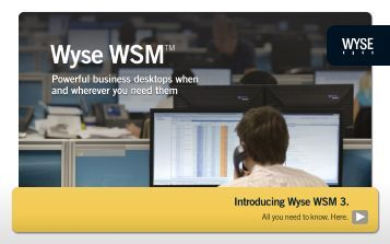 Wyse WSM 3.0 Datasheet - Dataflex