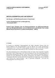 Drucksache 6/1377 - Landtag Mecklenburg Vorpommern