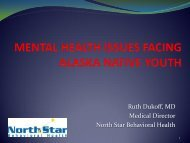 Alaska Native Mental Health - North Star Behavioral Health
