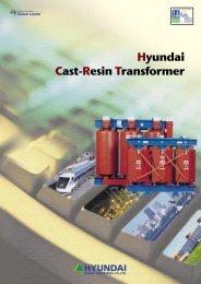Hyundai Cast-Resin Transformer